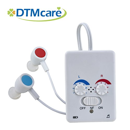 DTMCare Pure Audiology Pocket Rechargeable Hearing Amplif...