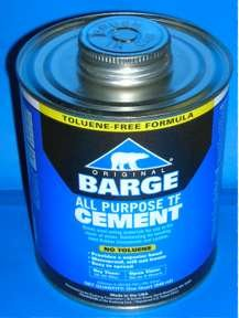 (Original Barge All-Purpose Cement by Quabaug Corp TF Toluene-Free -1 Quart- by Barge Cement)