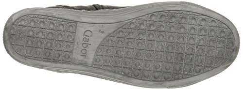anthrazit Femme Gabor Comfort Micro Shoes Gris Derbys Basic wqR6xTpRO