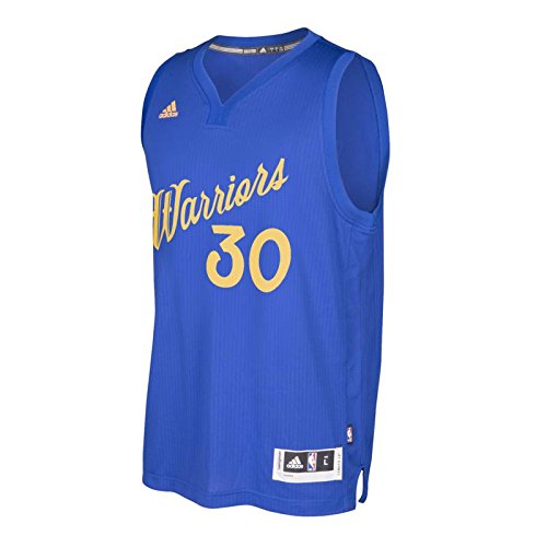 Amazon.com   adidas Stephen Curry Golden State Warriors Christmas Day  Swingman Jersey (Royal) S   Sports   Outdoors f184b8f95