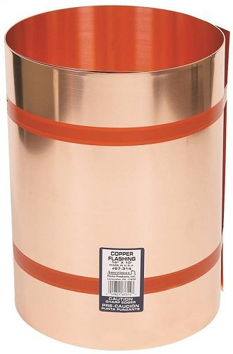 AMERIMAX HOME PRODUCTS 67314 14-Inch x10-Feet Copper Flashing by Amerimax Home Products