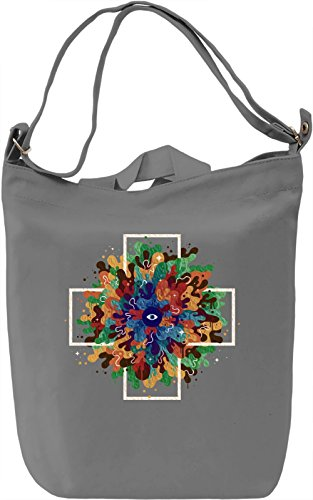 Liquid Eye Borsa Giornaliera Canvas Canvas Day Bag| 100% Premium Cotton Canvas| DTG Printing|