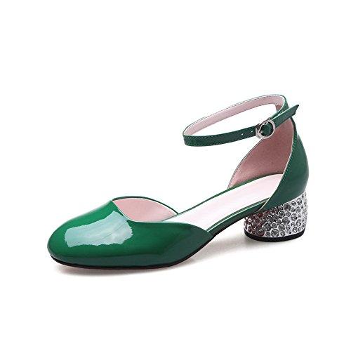 Vert Sandales EU Inconnu 36 Compensées 1TO9 Femme Green 5 OI1nwaq1