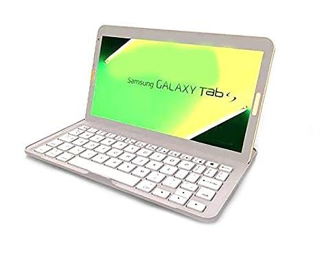 Mondpalast@ Funda teclado inalambrico Aluminium Bluetooth para Samsung Galaxy tab S 8.4 T700: Amazon.es: Electrónica