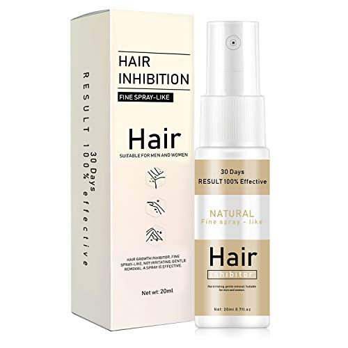 Hair Inhibitor, Painless Hair Stop Growth Spray, Hair Removal Spray, Non-Irritating Hair Removal Inhibitor, for Legs Body Armpit, Make Your Skin Smooth