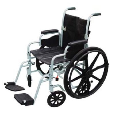 Drive Med 76604200 Wheelchair / Transport Chair Combo Pol...