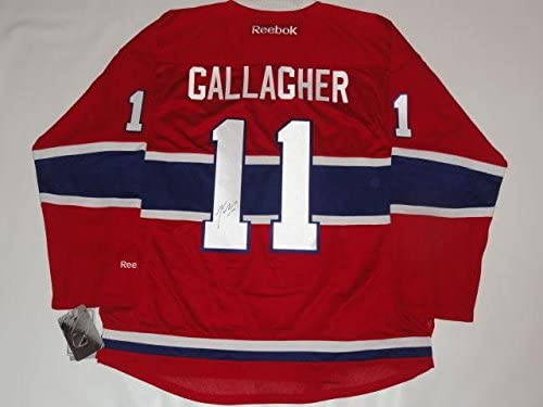 Brendan Gallagher Signed Rbk New 2017 Style Montreal Canadiens Jersey Coa -  JSA Certified - Autographed NHL Jerseys c925456e9