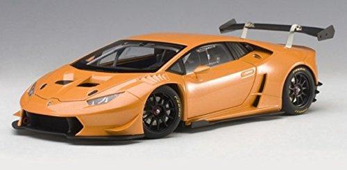 2015 Lamborghini Huracan Super Trofeo Orange Pearl / Arancio Borealis 1/18 Model Car by Autoart 81558
