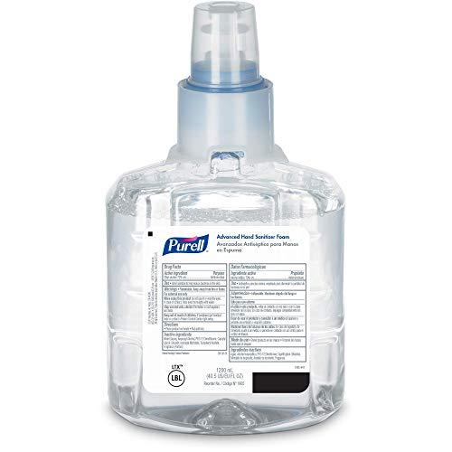 PURELL Advanced Hand Sanitizer Foam LTX12 Starter Kit 2  1200 mL Hand Sanitizer Foam Refills  1 ...