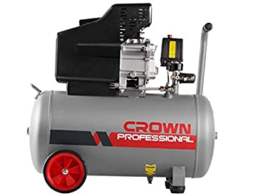 Compresor de aire Crown ct36029 2HP 50L 2800RPM 8 bar 50L 26,6 kg: Amazon.es: Bricolaje y herramientas