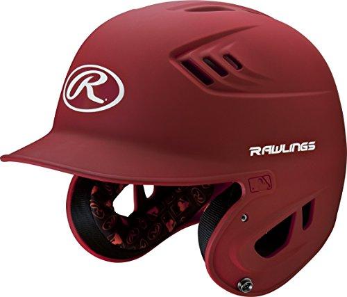 rawlings-r16-series-matte-batting-helmet-scarlet-junior