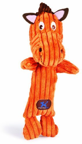 Charming Pet Heads Pet Squeak Toy, Horse (Discontinued by Manufacturer) by Charming Pet Products