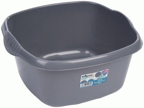 addis small rectangular washing up bowl metallic by addis. Black Bedroom Furniture Sets. Home Design Ideas