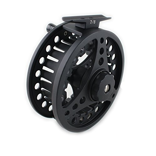 Geelife Fly Fishing Reel Aluminum Aolly Body and Spool Light Size 3 4 5 6 7 8 Used in a Vareity of Fishing Poles and Rods