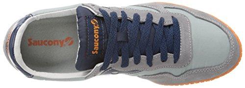 Saucony Originals Mens Bullet Classic Sneaker Grey/Blue 64 3ihu3G