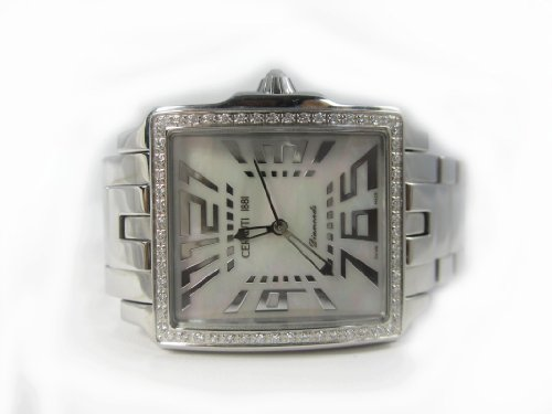 d31c23a42f CERRUTI 1881 Ladies .54 ct Diamonds. All stainless steel: Amazon.co.uk:  Watches