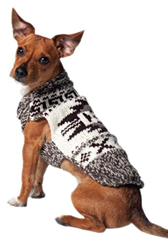 Buy Chilly Dog Rustic Aztec Sweater for Dogs, Medium Online