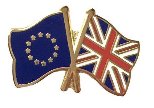 Royaume-Uni 'Union Jack', drapeau de l'Union européenne l' amitié Pin's drapeau de l'Union européenne l amitié Pin's Emblems-Gifts