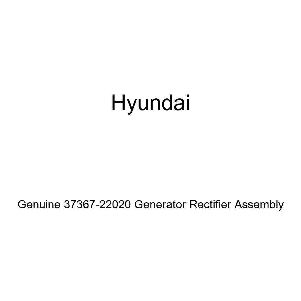 Genuine Hyundai 37367-22020 Generator Rectifier Assembly