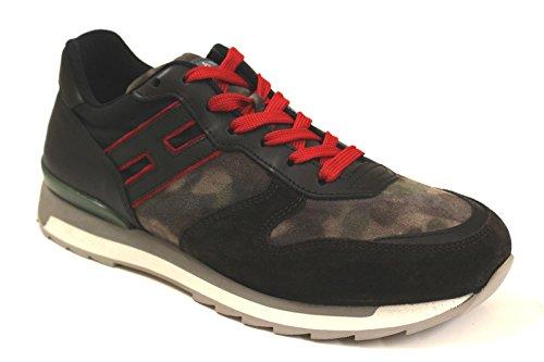 Hogan Rebel Sneakers Uomo HXM2610R6719NV0N30 Pelle Multicolor