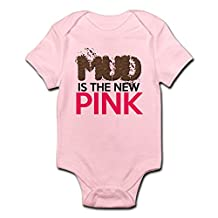 CafePress - Mud Is The New Pink - Cute Infant Bodysuit Baby Romper