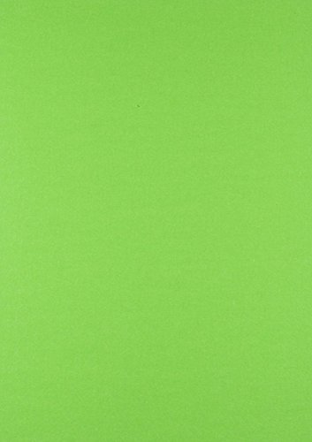 House of Card & Paper A4 300 gsm Card - Green Fluorescent/Neon (Pack of 25) HCP353