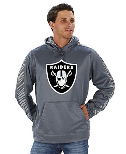 NFL Men's ZUBAZ Poly Hoodie Pullover