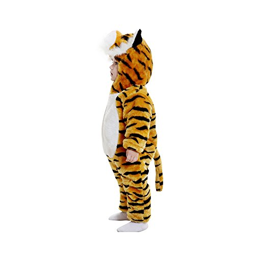 e2179339e Amazon.com: Lovelfly Baby Cute Boy & Girl Tiger Onesie Costumes/Sleepsuit:  Clothing