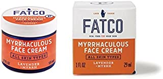 product image for FATCO Organic Myrrhaculous Anti Aging Face Cream and Moisturizer Cream with Tallow and Myrrh - Lavender + Myrrh (1 oz)