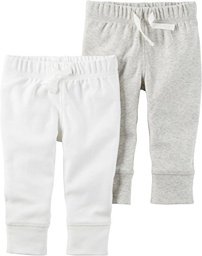 Carter's Baby 2-Pack Pants Set 6 Months, -