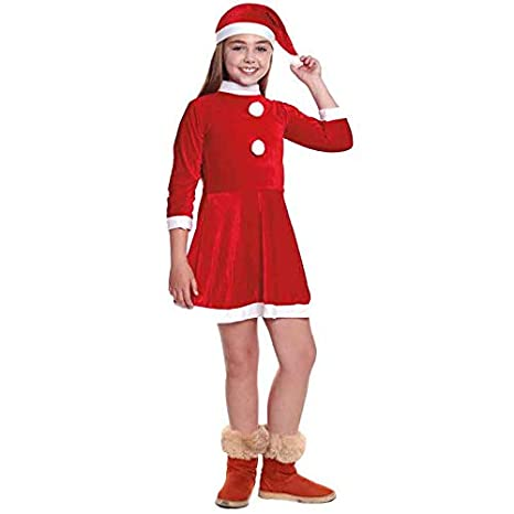 Disfraz Mamá Noel niña Infantil para Navidad (0-6 Meses) (+ Tallas ...