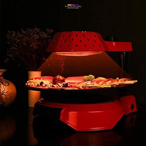 Kyman Barbecue électrique à Vapeur, sain sans fumée de Cuisson BBQ Grill avec Accessoires, Grill Mini Portable avec antiadhésives Surface en céramique et à Vapeur