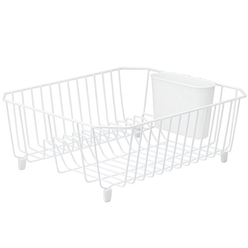 (Rubbermaid Antimicrobial Dish Drainer, Small, White 1858900)