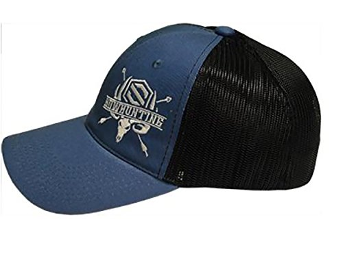Scott Black and Blue Bowhunter Meshback Hat (Scott Mesh Beanie)