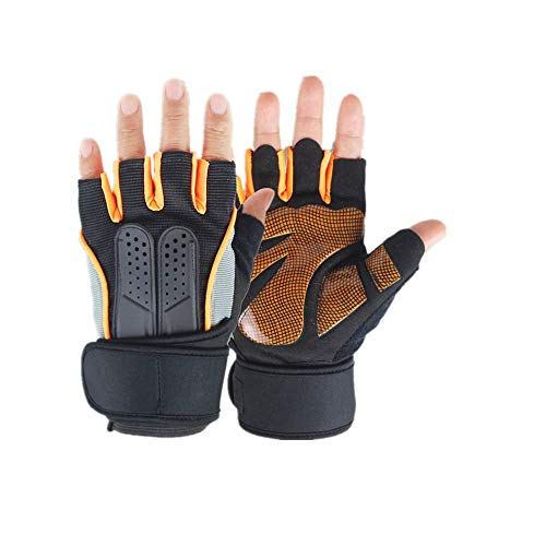 LYXE Summer Outdoor Men and Women Non-Slip Exercise Fitness Weightlifting Half Finger Gloves Fashion Bicycle Riding Gloves