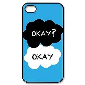 taoyix diy C-EUR Customized Print Okay Okay Pattern Back Case for iPhone 4/4S