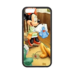 iPhone 6 4.7 Inch Cell Phone Case Black Mickey Mouse 14 V3Q6UB