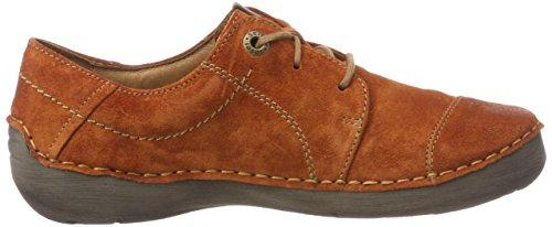 Brogue Naranja Josef Para 20 840 De Cordones Zapatos Fergey Mujer orange Seibel rYxzBr