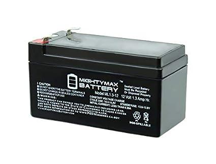 Amazon.com: 12 V1.3ah SLA Batería de repuesto para UPG ...