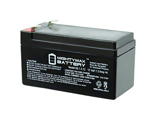 Mighty Max Battery 12V 1.3Ah Battery Replacement for Mercedes Benz N000000004039 Brand Product (Auxiliary Battery)