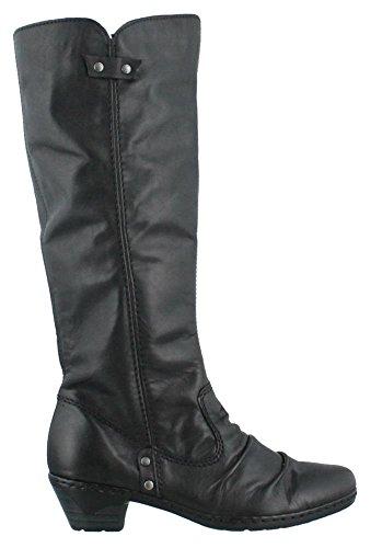 Women's Rieker, Lynn 76953 tall Boots BLACK 36 M