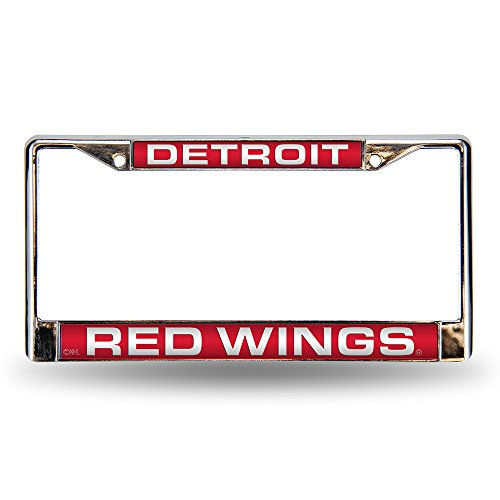 Rico Detroit Red Wings Laser-Cut License Plate Frame