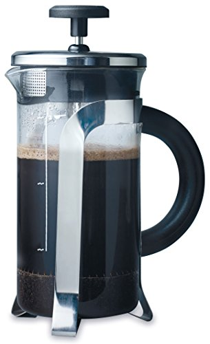 - aerolatte 3-Cup French Press Coffee Maker, 12-Ounce