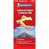 Kroatien (Michelin Nationalkarte)