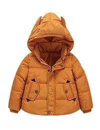 LOVEBEAUTY Little Boy's Monster Warm Hooded Puffer Jacket Down Coat