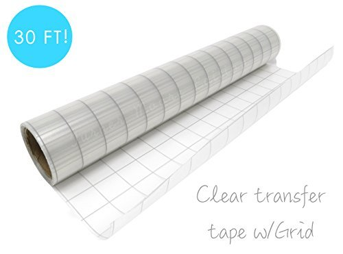 Styletech TM1210-C5 ST1210-C5 Grid Transfer Tape, Clear ()