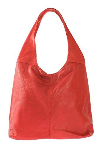 Para Oh Piel Lisa My Bolso Rojo Mujer De Cruzados Bag q0qRUZ