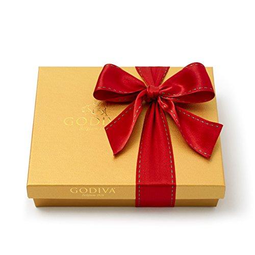 Godiva Chocolatier 19 Piece Holiday Gold Ballotin Gift Box, Assorted Gourmet (Gold Ballotin Assorted Chocolates)