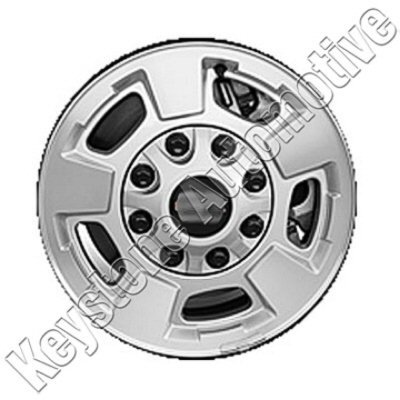 17'' Bright Silver Metallic Machined Refurbished OEM Wheels for 11-13 CHEVROLET SILVERADO (Machined Wheel 17')
