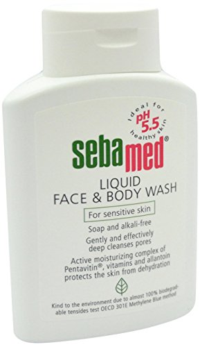 Sebamed Liquid Face & Body Wash Mild and Gentle Hydrating Cleanser for Sensitive Skin (200mL)